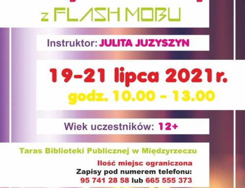Plenerowe wakacje: Warsztaty flash mobu.